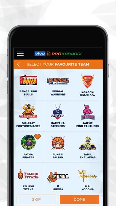 vivo Pro Kabaddi Official App screenshot three
