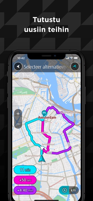 Tomtom Go Navigation App Storessa