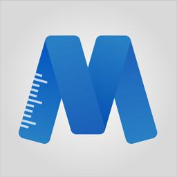 Ícone do app MeasureKit - AR Ruler Tape