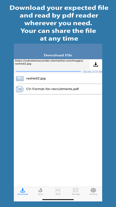 Document Scanner- Screenshots