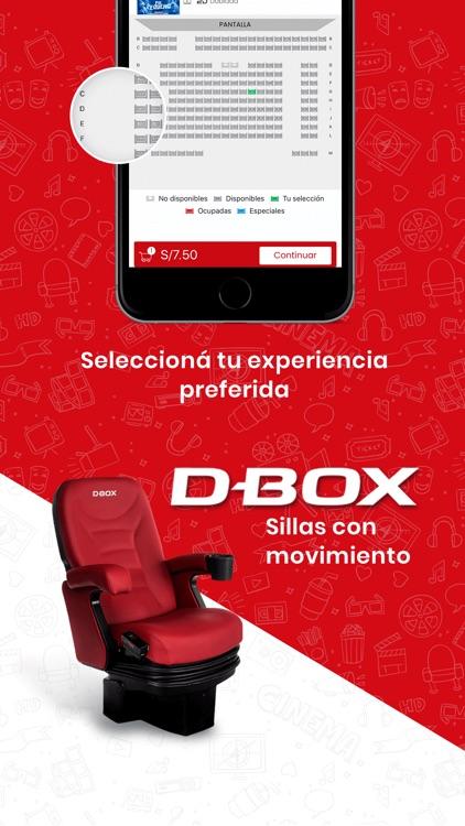 Cinemark Perú screenshot-3