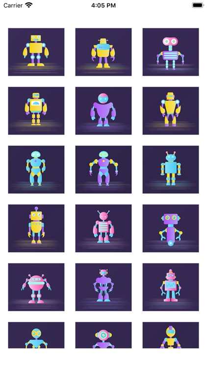 The robot Polly Sticker