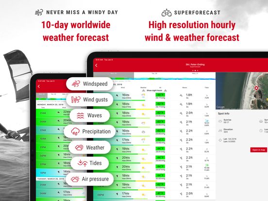 Windfinder Pro Wind & Weather Screenshots