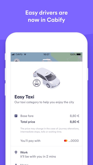 cancel Easy Taxi, a Cabify app app subscription image 1