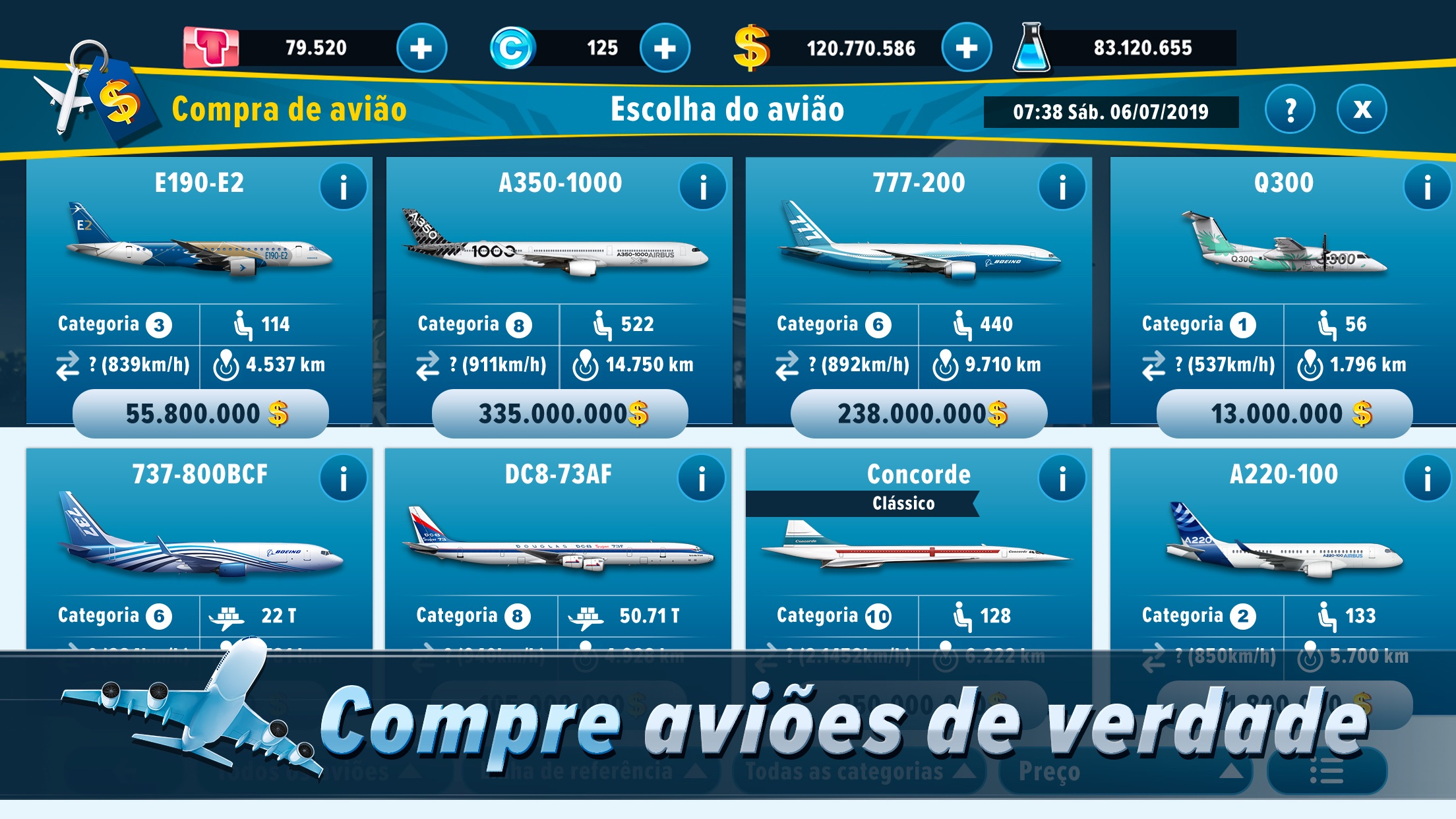 Screenshot do app Airlines Manager : Tycoon 2020