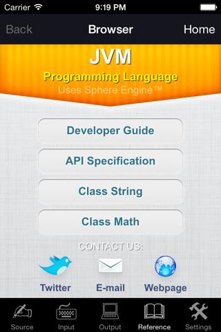 JVM Programming Language - náhled