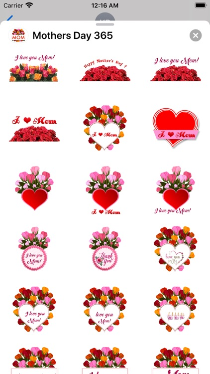 Mother's Day 365 Stickers screenshot-3