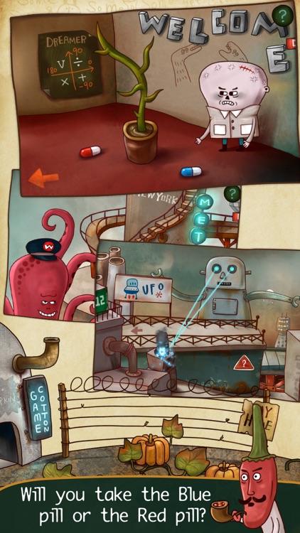 Mr. Pumpkin Adventure HD screenshot-3
