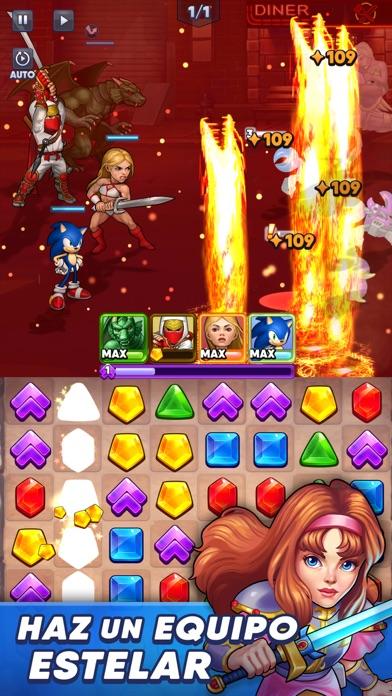 Descargar SEGA Heroes: Match-3 RPG Quest para Android