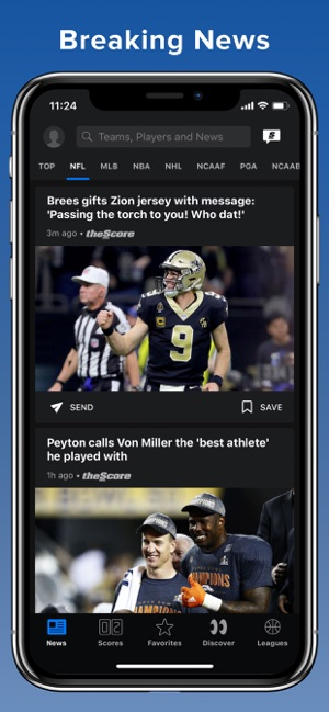 theScore: Sports News & Scores on the App Store