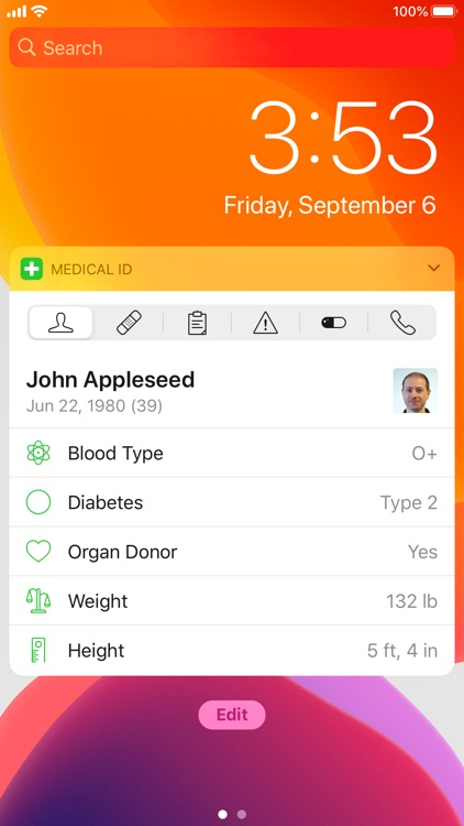 Medical ID Record screenshot-9