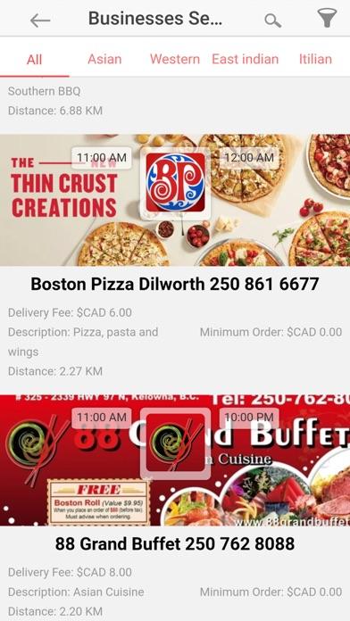 Restaurants Delivered screenshot two