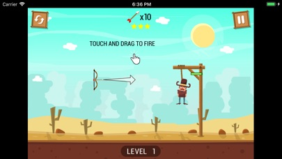 Save the cowboy-Cut the rope screenshot #3