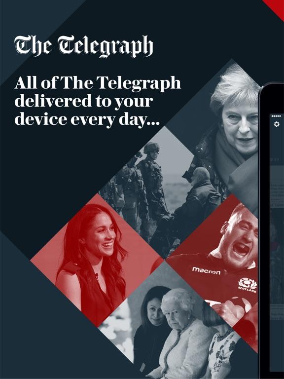 Screenshots for Telegraph Newspaper Edition UK