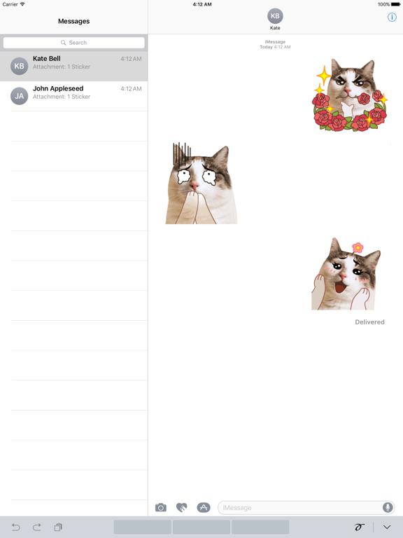 CatMoji Animated Humorous Cat screenshot 4