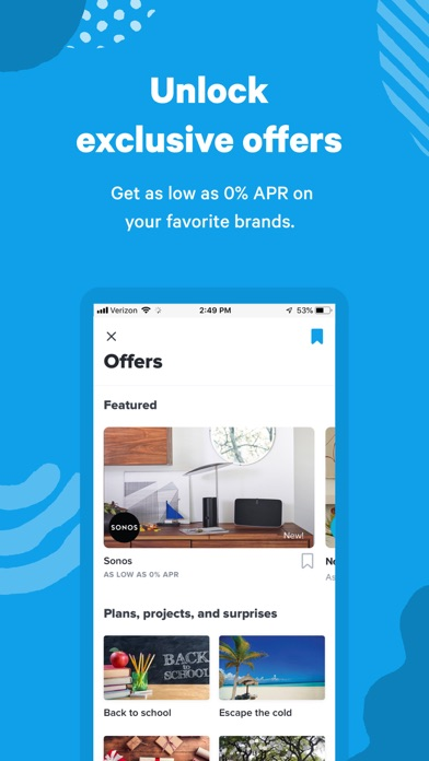 Screenshot for Affirm: A better way to pay in United States App Store