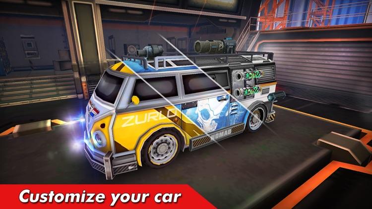Overload: Car Shooting Racing