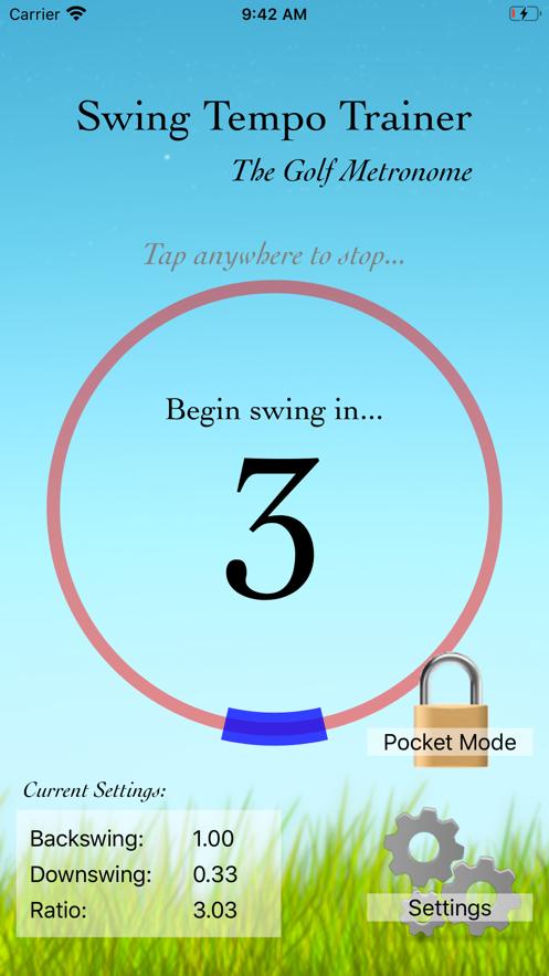 Swing Tempo Trainer App 截图