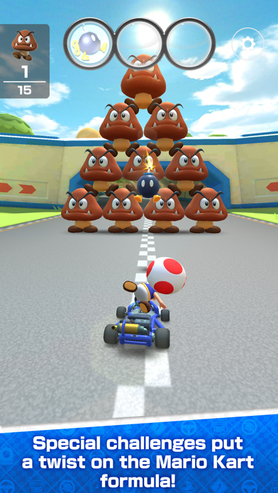 Screenshot of Mario Kart Tour App