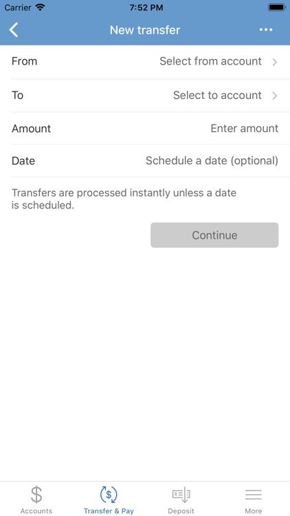 Santa Cruz County Bank Mobile screenshot-4