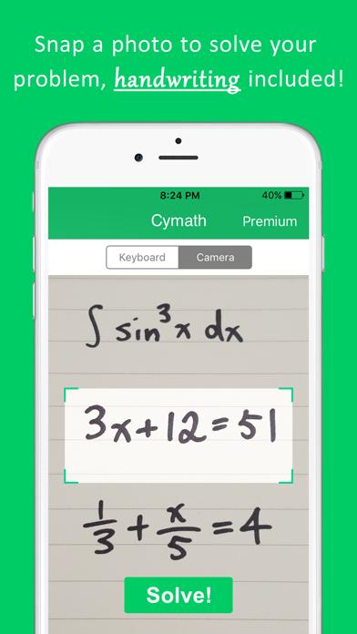 Cymath - Math Problem Solver by Cymath LLC (iOS, United ... on