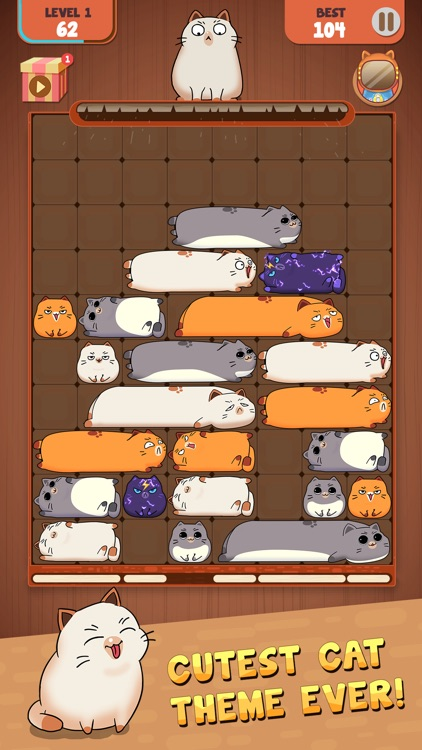 Haru Cats: Slide Block Puzzle screenshot-6