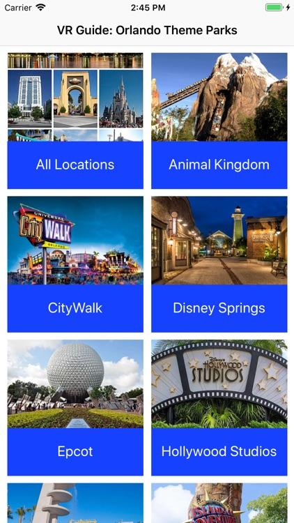 VR Guide: Orlando Theme Parks