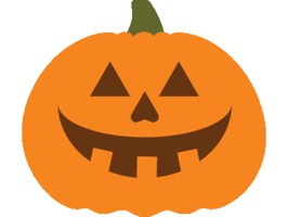 Trade stickers to carve out your very own Jack O' Lantern