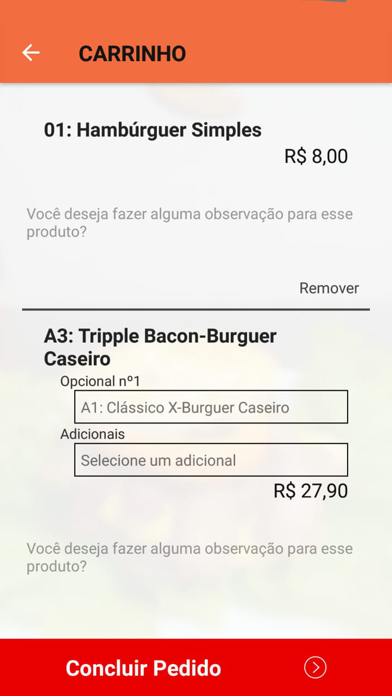 Screenshot for Léo Lanches Delivery in United States App Store