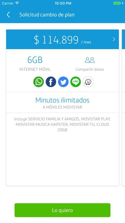 Mi Movistar Colombia screenshot-1