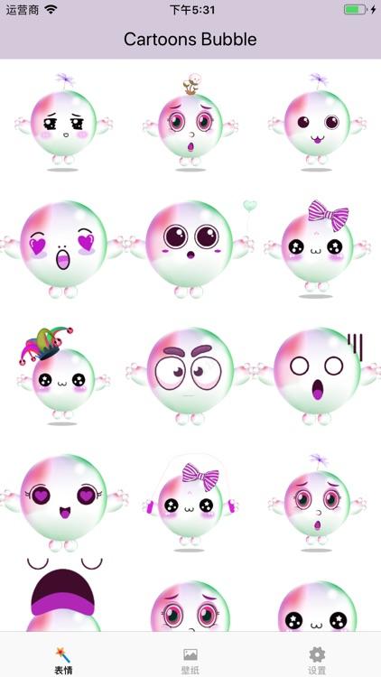 Cartoons Bubble