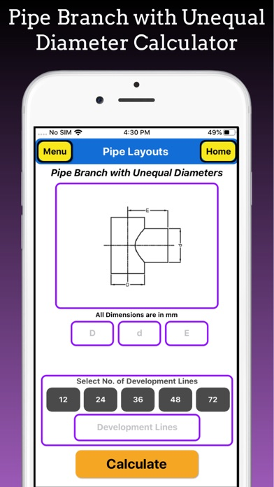 Branch Pipe Layouts Pro screenshot 5