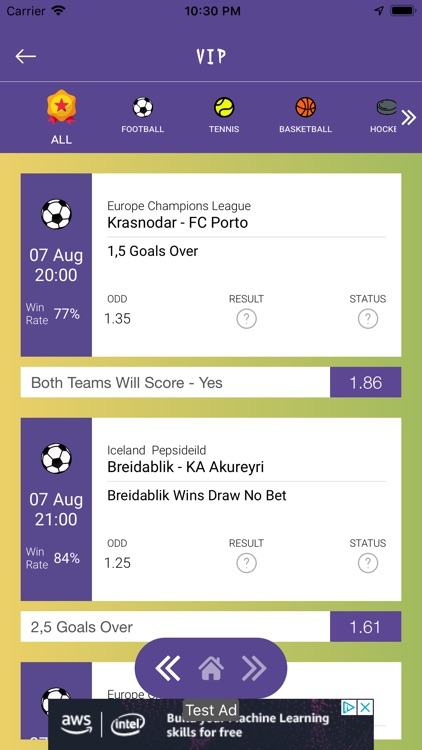 Betting Tips Predictor screenshot-4