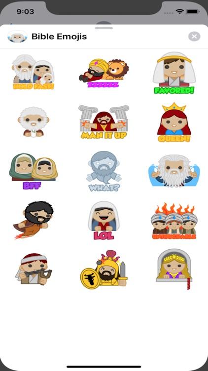 Bible Emojis Stickers