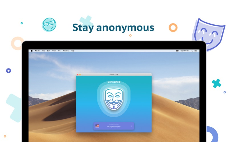 VPN Snowd - ВПН прокси скриншот программы 3