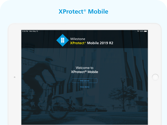 XProtect® Mobile by MILESTONE SYSTEMS A/S (iOS, United States