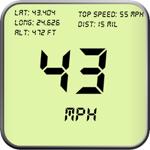 Compteur de vitesse GPS numéri pour pc