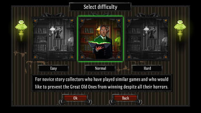 Screenshot from Lovecraft's Untold Stories