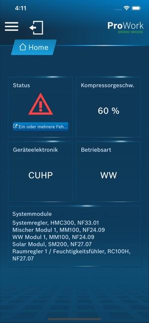 Häufig Buderus ProWork im App Store NB08