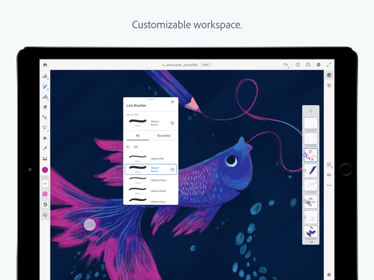 Adobe Fresco  - Draw and Paint screenshot-5
