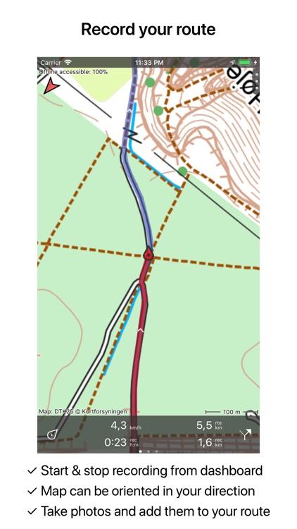 Topo GPS Denmark screenshot-3