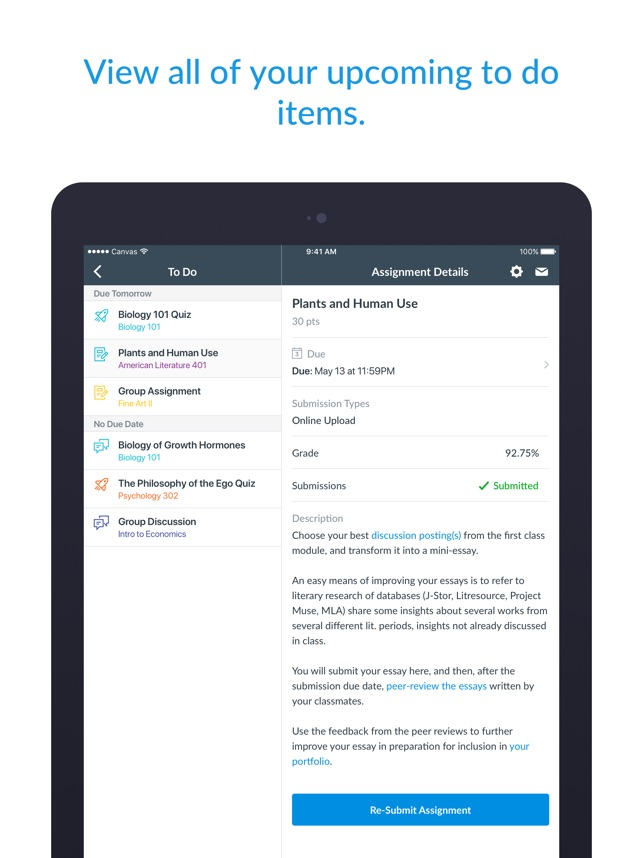 Canvas Student On The App Store