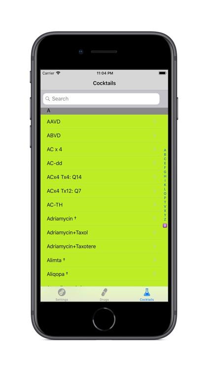 iCHEMO screenshot-3