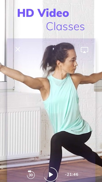 Yoga Wave: workout and poses screenshot four