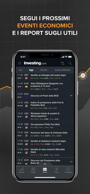 8d1da2e654  Investing.com Borsa su App Store
