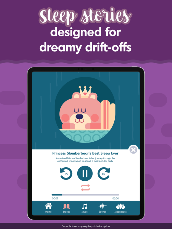 Budge Bedtime Stories & Sounds screenshot 14
