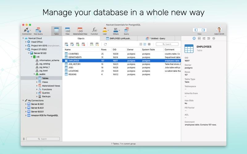Update: Navicat Ess 15 for PostgreSQL  (Developer Tools)