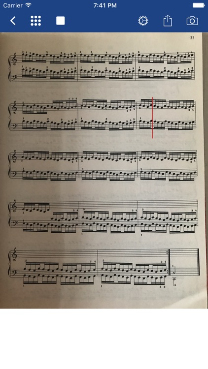 Notation Scanner - Sheet Music