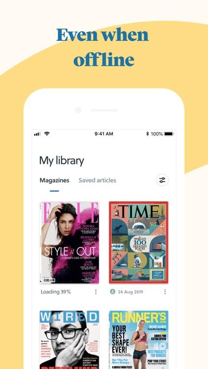 CAFEYN – News and magazine screenshot-4
