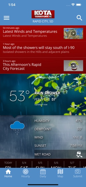 KOTA Mobile Weather on the App Store
